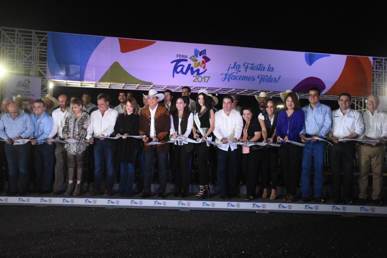 Inaugura Gobernador Feria Tam 2017