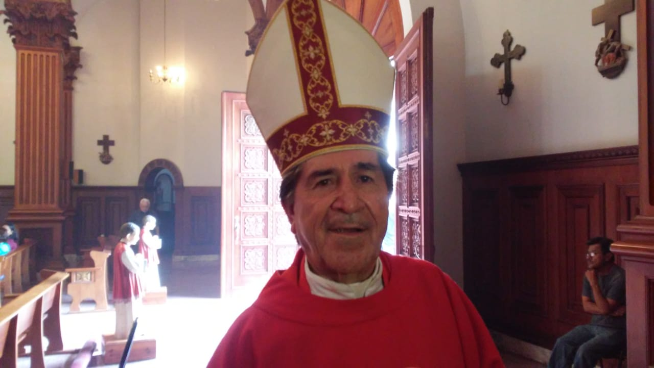 Iglesia Católica no es parte de la mafia del poder: Obispo