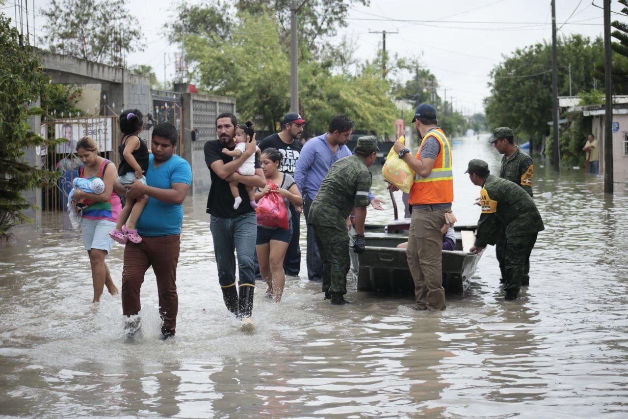 Despliega Gobierno y DIF brigadas de apoyo en Reynosa